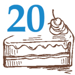20 szelet